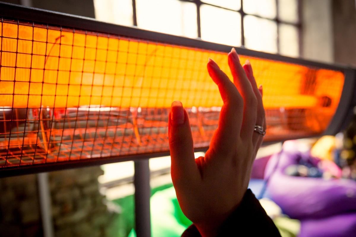 verwarming veranda met infrarood
