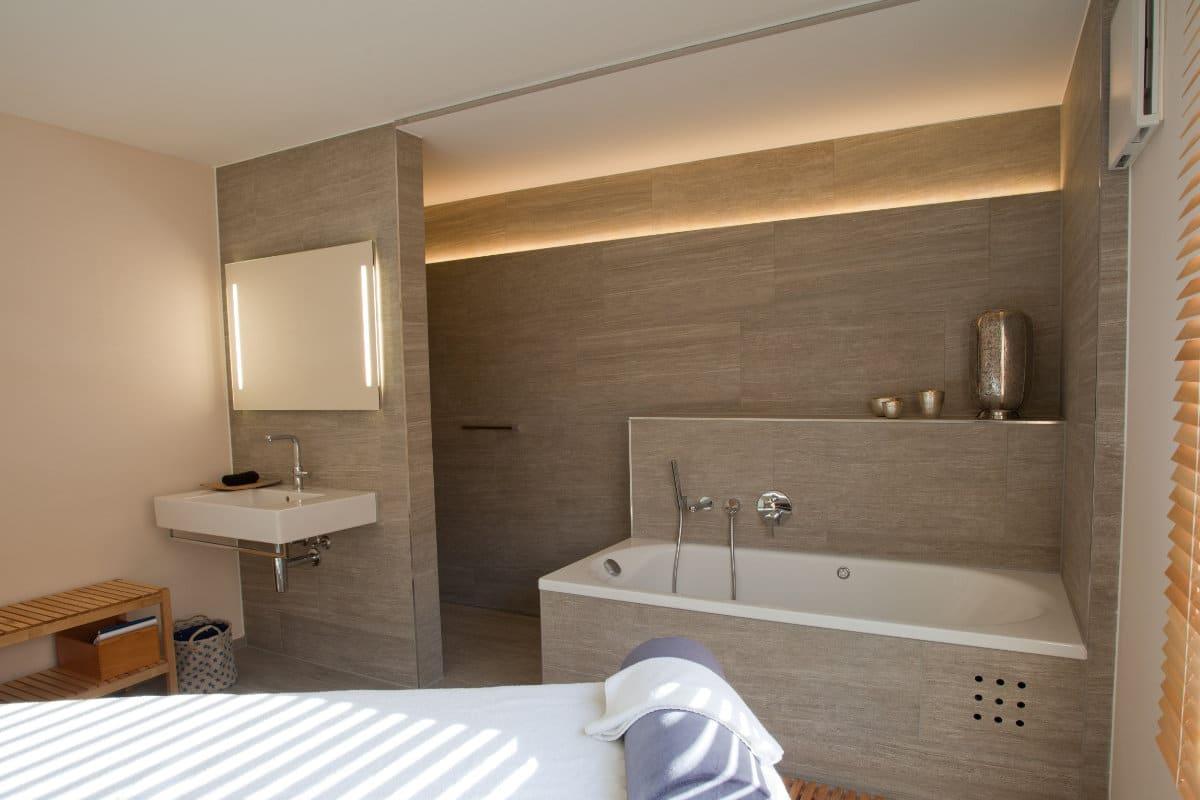 infrarood spiegel badkamer