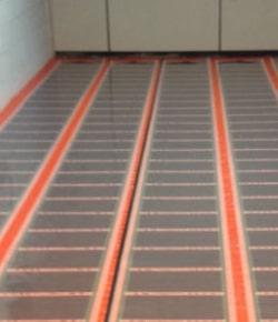 infrarood verwarming - infrarood vloerverwarming