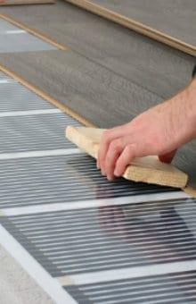 voorbeeld infrarood vloerverwarming